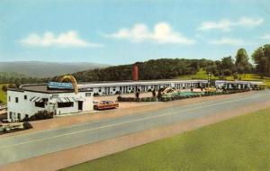 St. Clairsville Ohio 1960s Postcard Floridian Motel