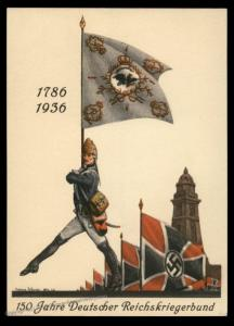 3rd Reich Germany Deutscher Reichskriegerbund Veterans Kassel 1936 Propaga 91328