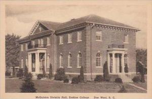 South Carolina Columbia Due West Mcquiston Divinity Hall Erskine College