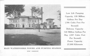 1920s Main Waterworks Power Pumping Station New Orleans Louisiana 1333