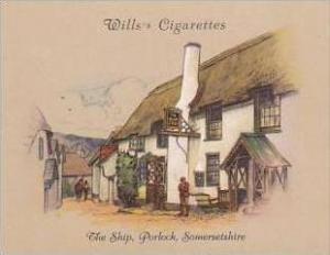 Wills Cigarette Card 2nd Series No 29 The Ship Porlock Somersetshire