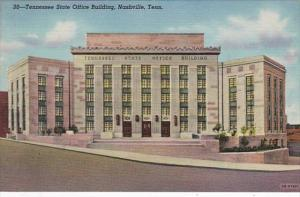Tennessee Nashville Tennessee State Office Building Curteich