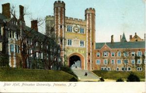 NJ - Princeton. Princeton University, Blair Hall