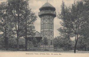 ST. LOUIS, Missouri, 1901-07 ; Observation Tower, O'Fallon Park