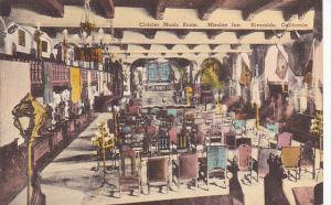 Cloister Music Room Mission Inn Riverside California Handcolored Albertype