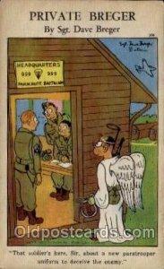 Military Comic Unused
