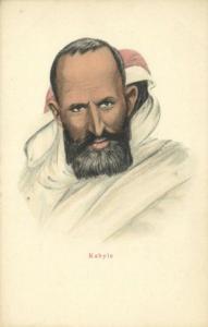 algeria, Native Kabyle Type Male, Kabylians (1899)