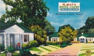 Florida Ocala Mackays Hotel Court