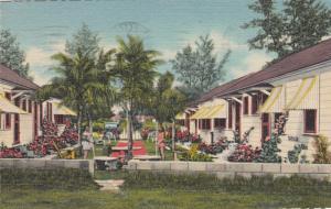 ST PETERSBURG , Florida, 1950 ; The Hawaiian Cottages
