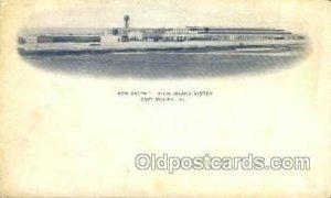 Rock Island System, Moline, IL, Illinois, USA Train Railroad Station Depot Un...