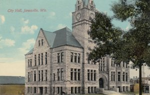 JANESVILLE , Wisconsin, 1911 ; City Hall