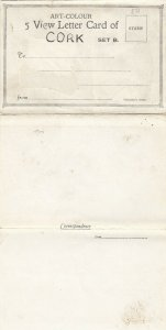 CORK , Ireland , 1900-10s ; 5 view Letter Card