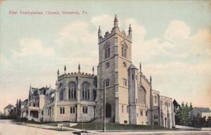 SCRANTON, Pennsylvania, 1900-1910's; First Presbyterian Church