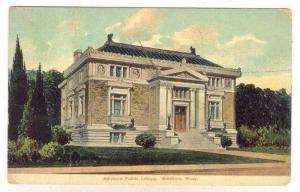 Attleboro Public Library, Attleboro, Massachusetts, PU-1908
