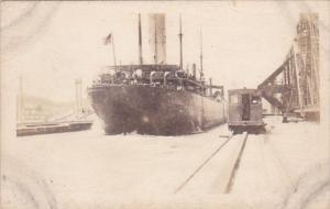 Panama U S S Prometheus In Panama Canal