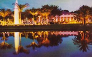 Florida Fort Lauderdale Kapok Tree Inn At Night