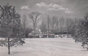 Massachusetts Lenox Winter Time Eastover Resort Dexter Press