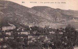 Vue generale pris du Cap Martin,Menton,France BIN