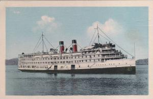 Canadian Steamship Lines Steamer , Montreal-Saquenay route, 10-30s