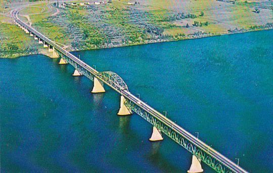 Canada New Brunswick Fredericton Princess Margaret Bridge