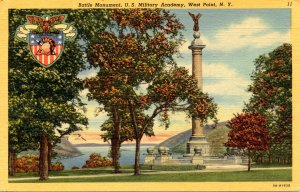 NY - West Point. Battle Monument at U.S. Military Academy
