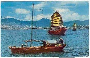 pc278 postcard Dear Doctor Hong Kong 1960 Both sides shown