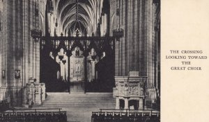 WASHINGTON , D.C. , 1930s ; Cathedral , Interior