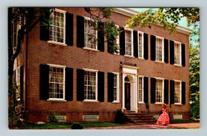 Bardstown KY-Kentucky, My Old Kentucky Home, Southern Belle, Chrome Postcard