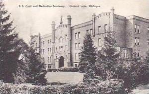 Michigan Orchard Lake S S Cryril and Methodius Seminary Albertype