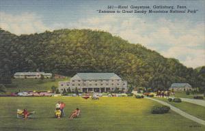 Tennessee Gatlinburg Hotel Greystone Curteich