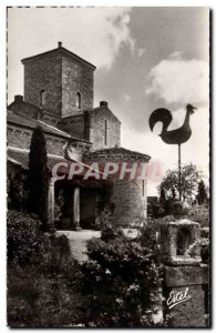 Germigny des Pres - L & # 39Eglise - The Facade and laterne the Dead - Old Po...