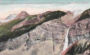 Canada Alberta Takakkaw Falls & Yoho Valley Near Field Canadian Pacific Railw...