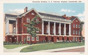 FAYETTEVILLE , Arkansas , 1910s ; U.S. Veteran's Hospital