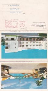 Florida Miami Beach Jefferson Hotel Fold Out Winter Rate Card
