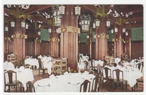 Main Dining Room Hotel New Grand Yokohama Japan postcard