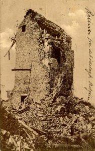 Belgium - Nieuport. Observation Post Ruins