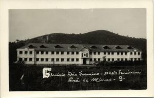 brazil, PARA DE MINAS, Ginásio São Francisco (1950s) RPPC