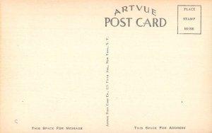 Williamstown Kentucky Halfway House Cabins Entrance Vintage Postcard AA39803