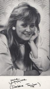 Jane Hazlegrove Debbie Taylor Albion Market Orig Printed Signed Photo Cast Card