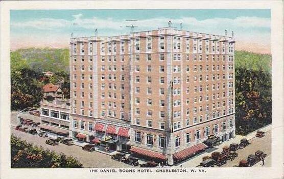 West Virginia Charleston The Daniel Boone Hotel 1950