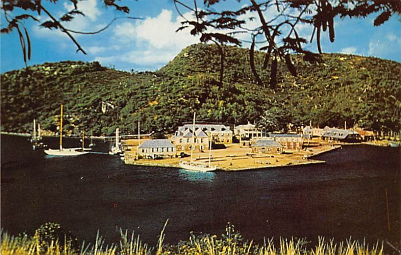 Antigua, West Indies Post card Old Vintage Antique Postcard Nelson's Doc...