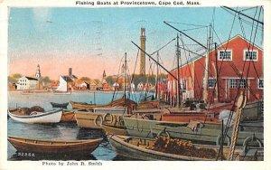 Fishin Boats  Provincetown, Massachusetts Postcard