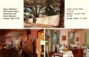 Mississippi Biloxi Mary Mahoney's Old French House Restaurant and Slave ...