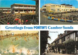 uk5805 greetings from pontins camber sands uk