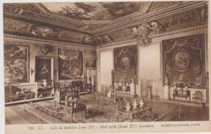 Interior View Salle du Mobilier Louis XV, Musee de Louvre, Paris France 1900-10s