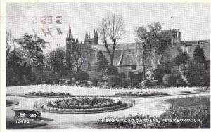 Peterborough Bishops Road Gardens Garden Postcard
