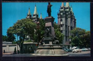 The Pioneer Monument,Salt Lake City,UT