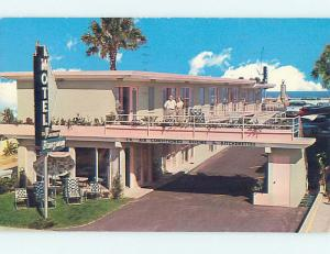 Pre-1980 OLD CARS & TUCK AWAY MOTEL Daytona Beach Florida FL M2524