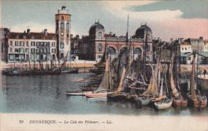 DUNKERQUE, Nord, France, 1900-1910´s; La Cale Des Pecheurs