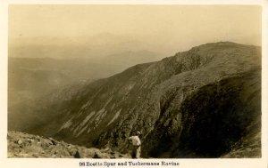 NH - Mt Washington, Boots Spur & Tuckerman Ravine   RPPC